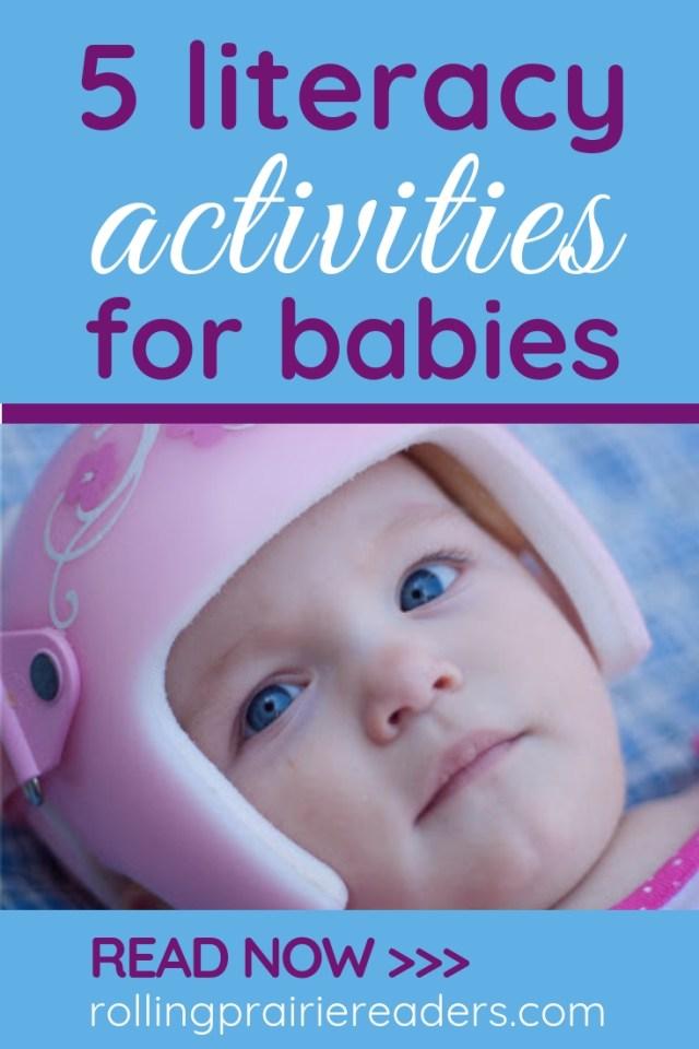 5 Literacy Activities for Babies