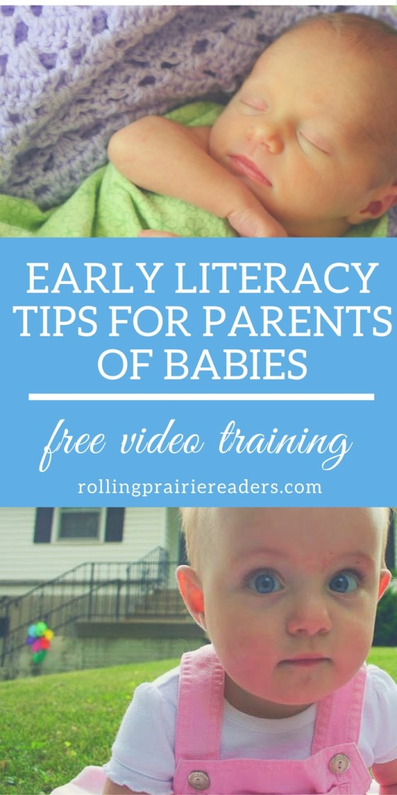 Early Literacy Tips for Parents of Babies | Reading at Home, Literacy Tips for Parents, Fun Ideas for Kids, Activities for Babies, Read Aloud Tips, Baby Literacy Tips