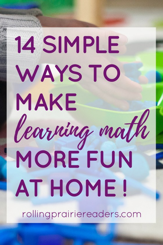 14 Simple Ways to Make Learning Math More FUN at Home | Tips and Resources for Parents of Preschoolers and Primary Grade Students