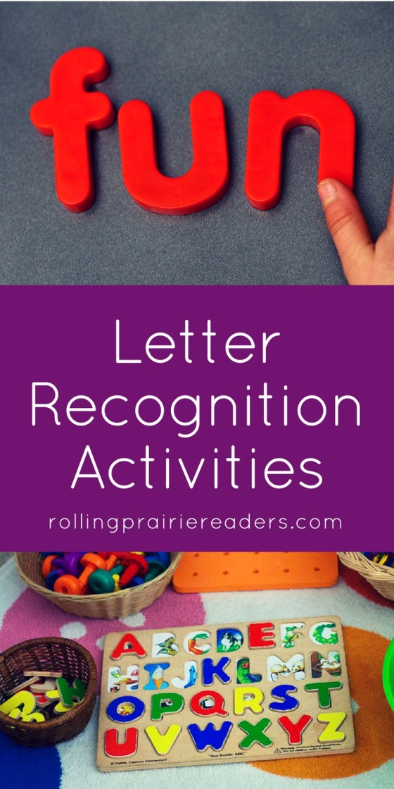 Letter Recognition Activities for Preschoolers | ABC games, learning letter names, learning letter sounds, early literacy, tactile activities, learning through play