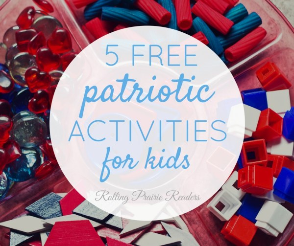 Get 5 FREE patriotic activities for toddlers & preschoolers--no e-mail address opt-in required!
