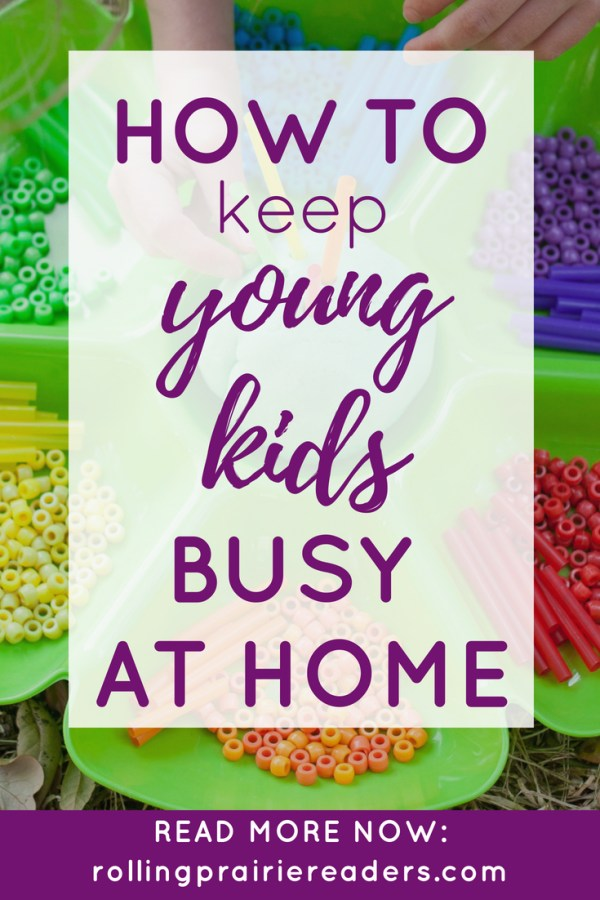 How to Keep Young Kids Busy at Home | Indoor activities for summer, rainy days, and work-at-home moms! Keep toddlers and parents happy with fun and simple learning activities using simple materials.