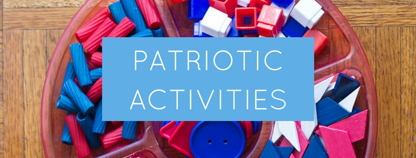 Patriotic Activities for Kids   Celebrate Memorial Day and Independence day with these patriotic songs and resources, fireworks crafts, patriotic sensory bin, and more!