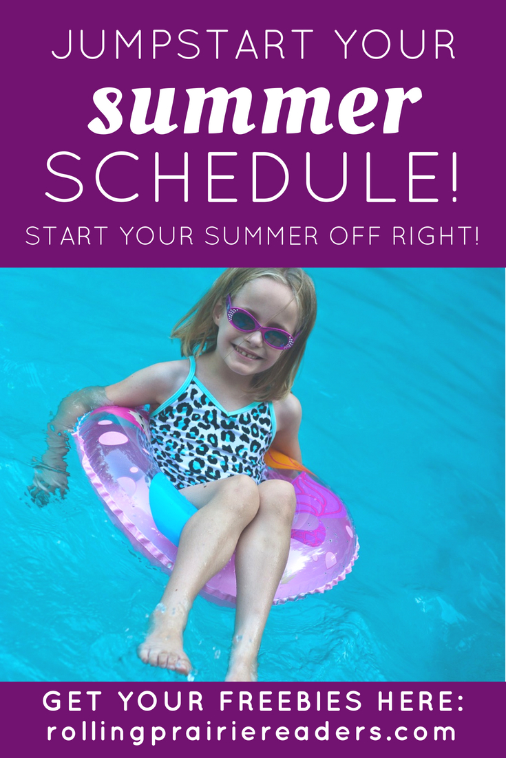 Start summer right with this FREE five-day challenge, all about jumpstarting your family's summer schedule.