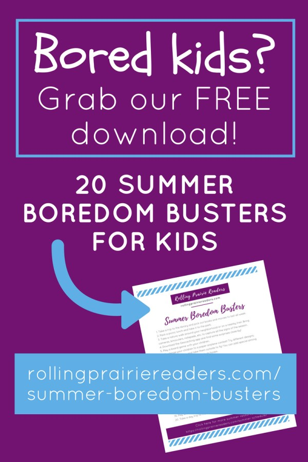 Has the excitement of summer worn off for your kids? Are your kids constantly complaining about being bored? Are they bickering nonstop with their friends and siblings? Maybe they're spending more time on their screens than you would like? Scroll down to grab your FREE 20 Summer Boredom Busters, and bring FUN back to your family!
