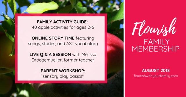 September Flourish Schedule