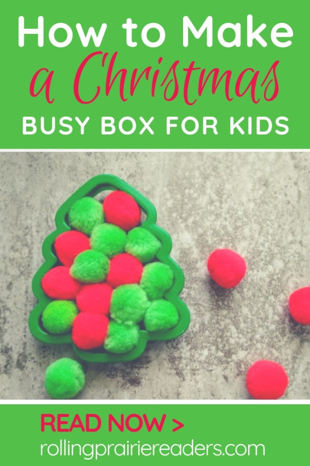 How to Make a Christmas Busy Box for Kids