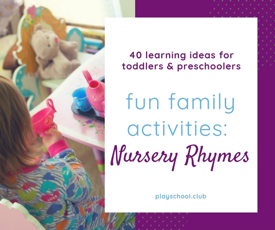 Nursery Rhymes Family Activity Guide
