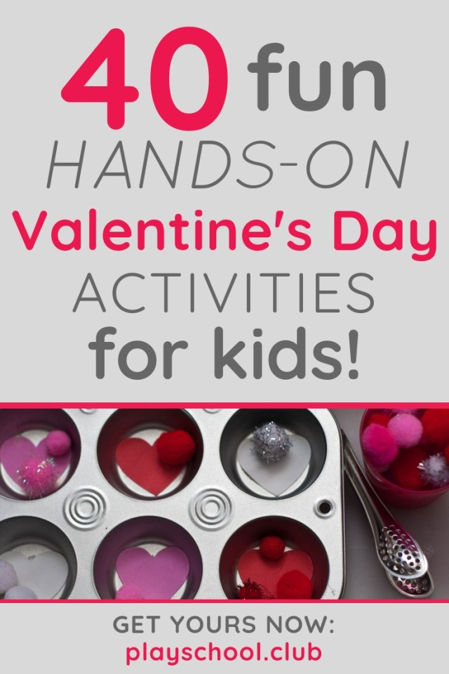 40 fun hands-on Valentine's Day activities for kids
