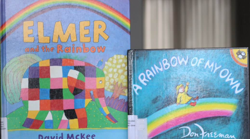 Elmer and the Rainbow with A Rainbow of My Own