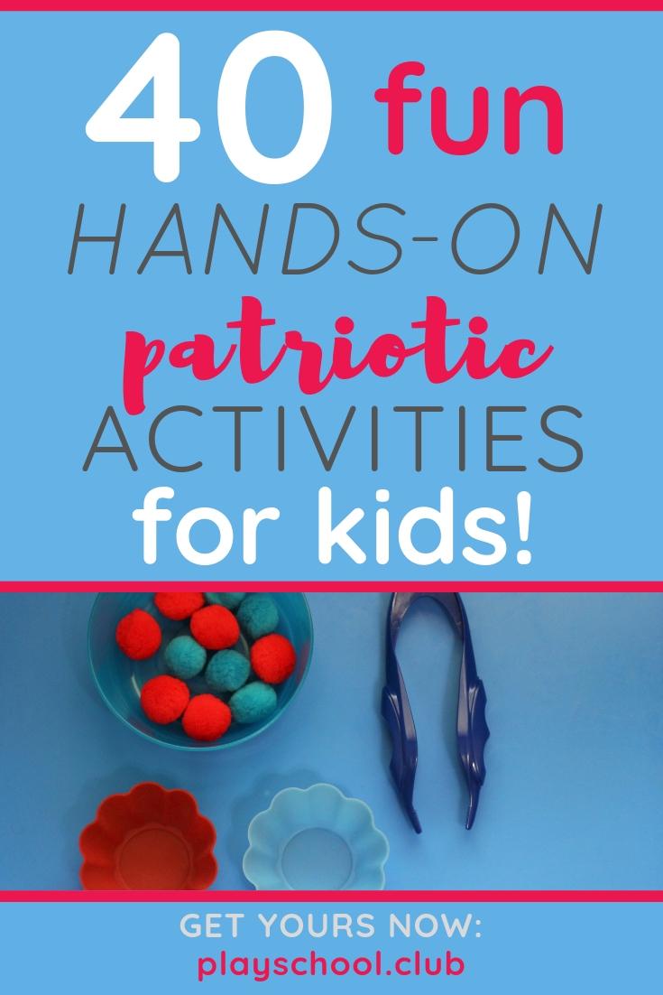 hands-on patriotic activities for kids