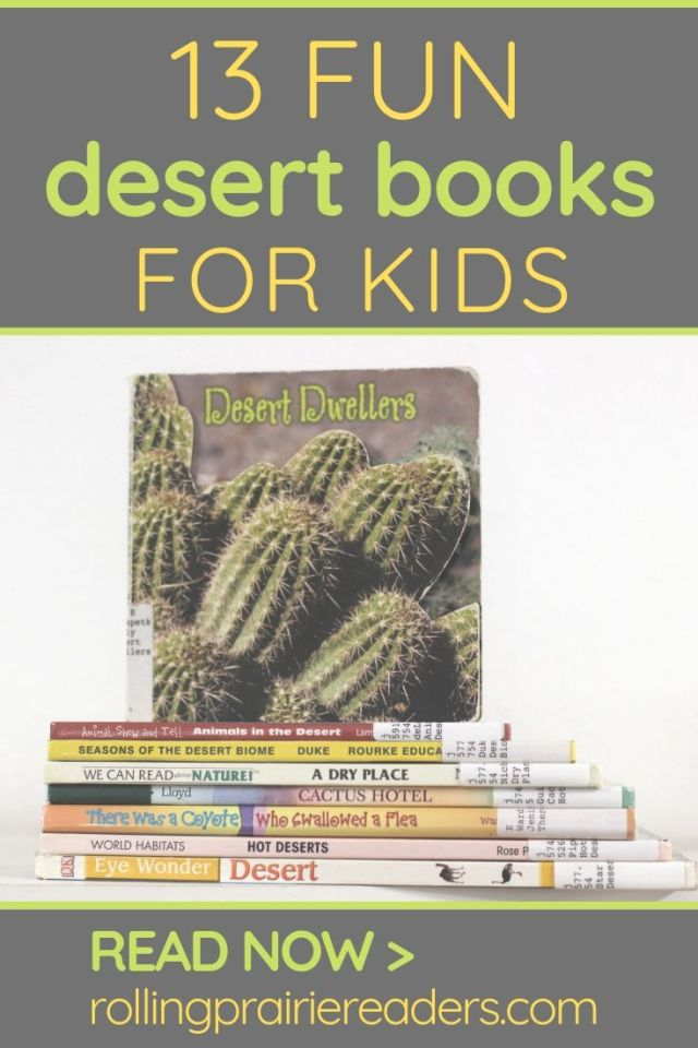 desert books for kids