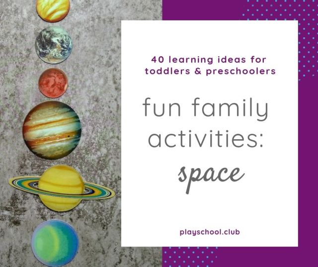 fun family activities: space