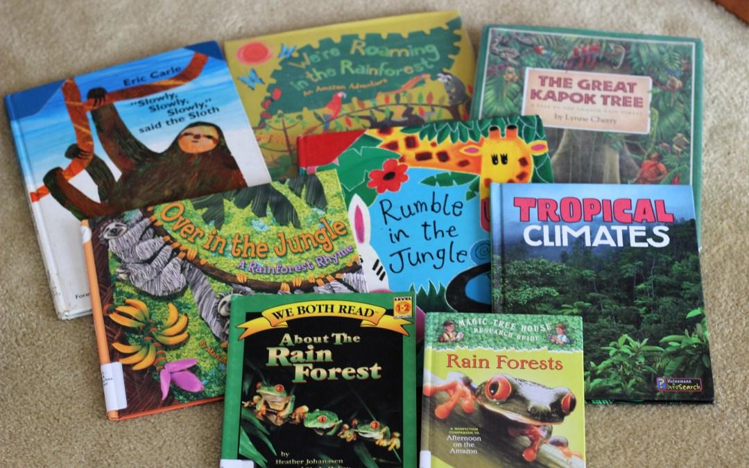 12 Jungle Books for Kids