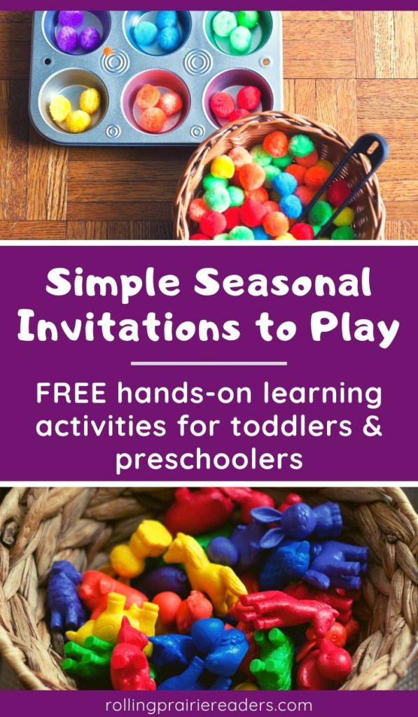 Seasonal Invitations to Play