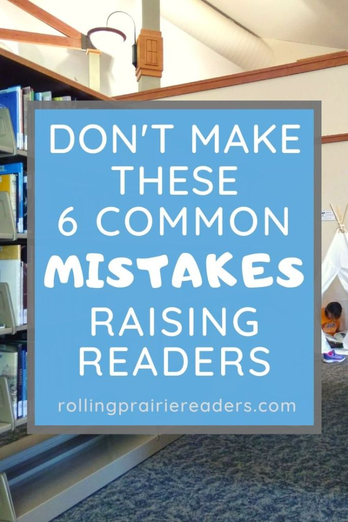 Don't make these common mistakes when teaching your kids how to read!