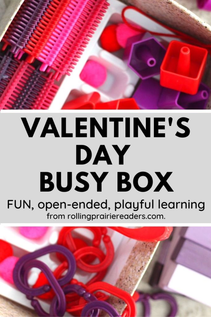 Valentine's Day Busy Box