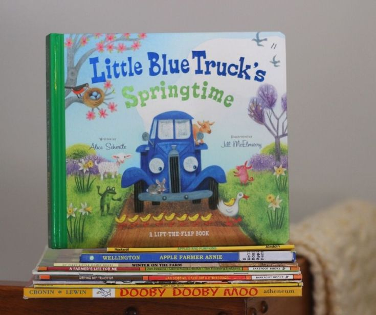17 Farm Books for Kids