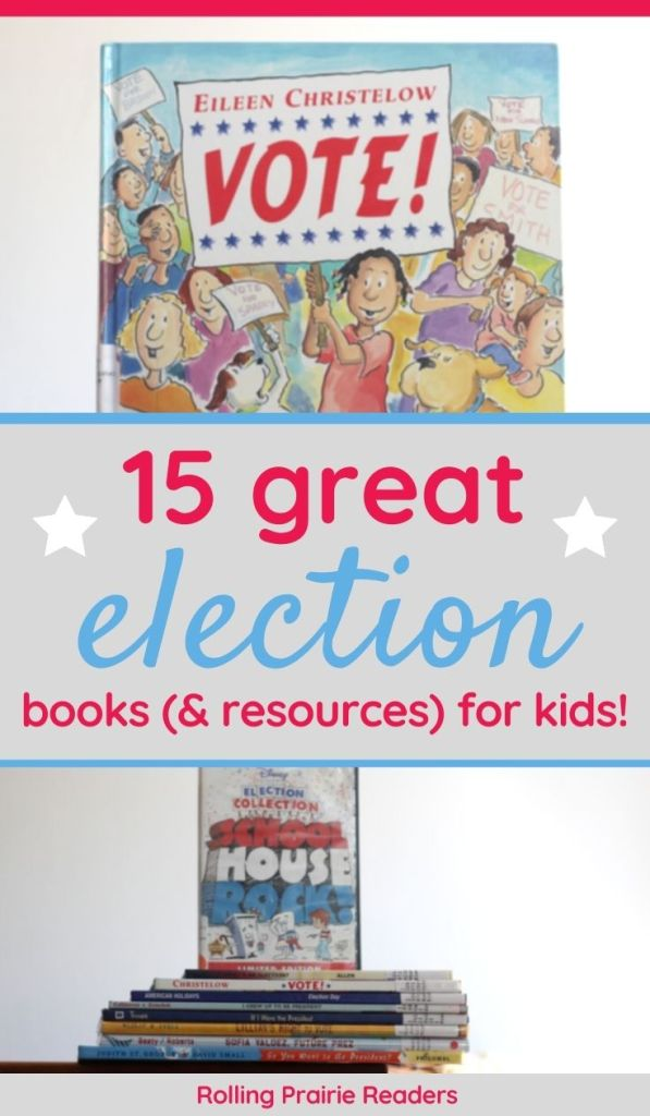 15 Great Election Books for Kids