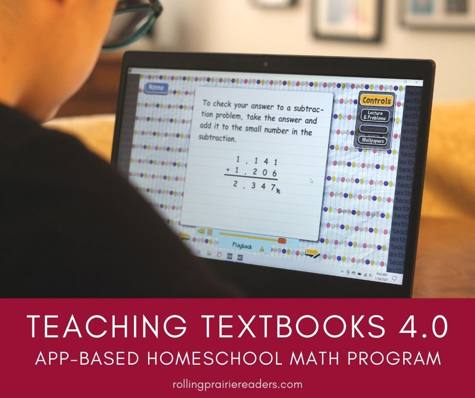 A Review of Teaching Textbooks 4.0 Homeschool Math Program