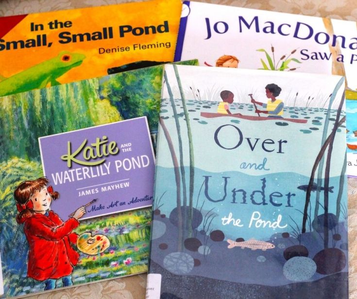 Great Pond Books for Kids