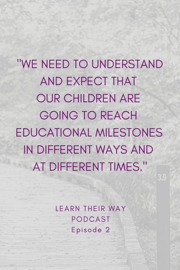 Reach Educational Milestones