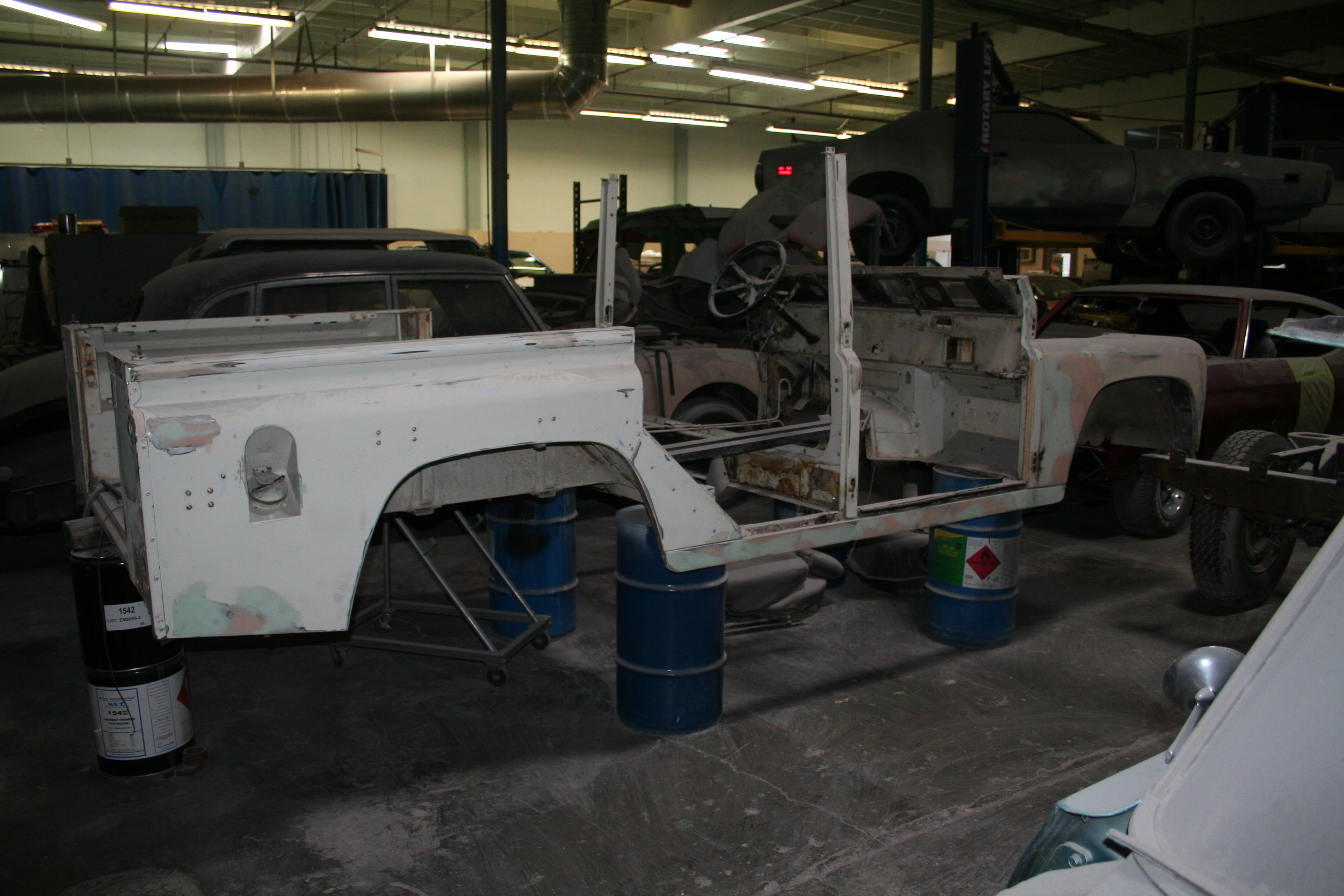 1987 Land Rover Defender 110 Sold Rolling Projects