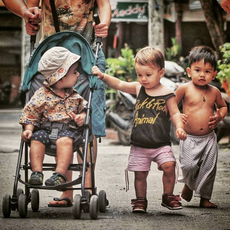 Ко Панган на улицата