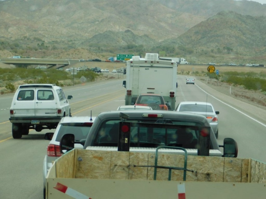 Snarled in Traffic by Boulder City