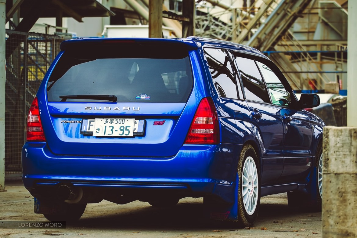 Forester STI retro 2