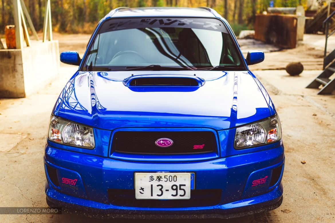 Forester STI front 2
