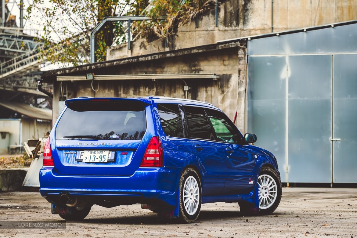 Forester STI retro