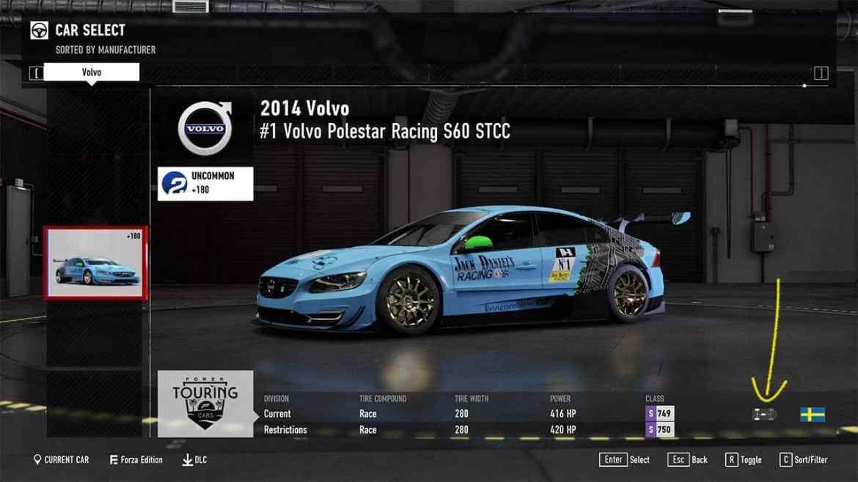 Volvo S60 STCC Forza