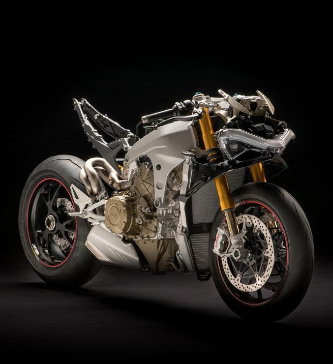 Ducati Panigale V4S nuda