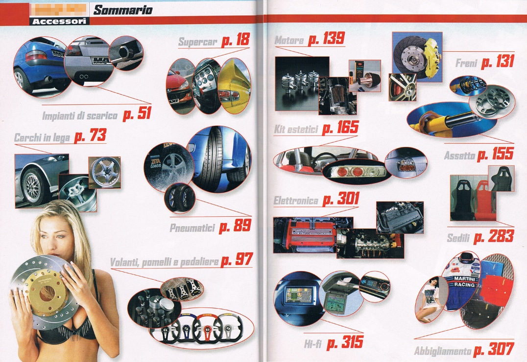catalogo tuning indice