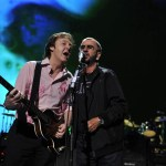 Paul McCartney and Ringo Starr in New York City. Photo: Kevin Mazur