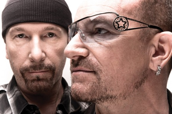 U2's The Edge and Bono
