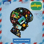 The cover art for Goldspot's third album Aerogramme