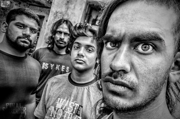 Bengaluru metalcore band Final Surrender.