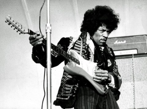 Jimi Hendrix. Photo: Scanpix