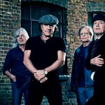 AC/DC's original lineup -  (from left) Cliff Williams, Brian Johnson, Stevie Young and Angus Young. Photo: courtesy of Sony Music India