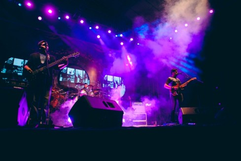 Thermal And A Quarter performing at NH7 Weekender in Pune. Photo: Parizad D