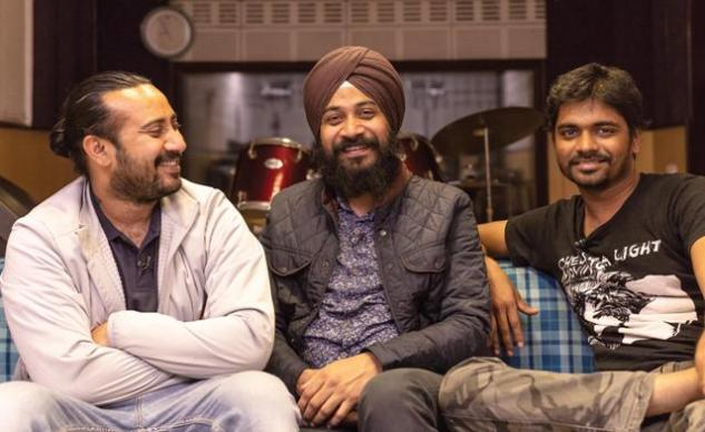 IP Singh, Randeep Singh and Anup Kutty (from left). Photo: Naman Saraiya