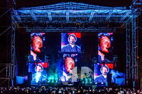 Ed Sheeran in Mumbai for his debut India performance | Photo Courtesy: Percept Live
