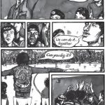 A page from the 'Ghetto Brother' graphic novel.