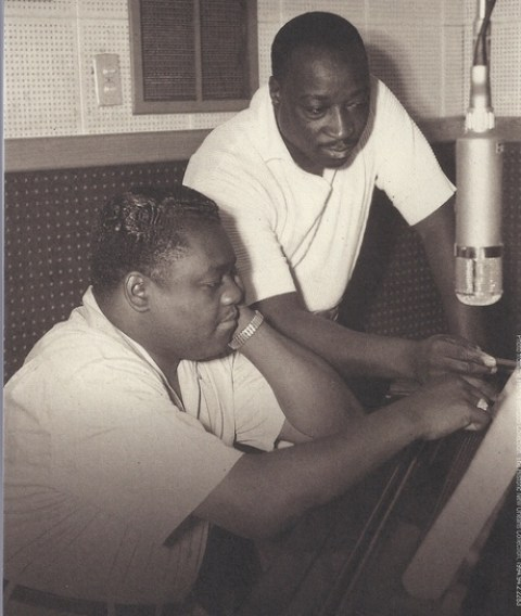 Fats Domino and Dave Bartholomew