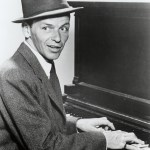 A44AG6 FRANK SINATRA US singer and actor