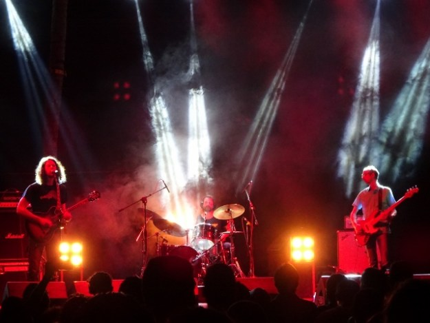 German stoner/psychedelic rock band Colour Haze at Indie March 2016 in Bengaluru