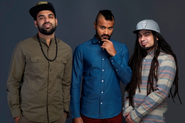 Reggae Rajahs (From left) Raghav Dang, Zorawar Shukla and Amit Rahul. Photo: Courtesy of the artist.