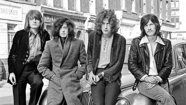 Led Zeppelin. Photo: Happybeatle2/ CC BY-SA 4.0/ Wikimedia Commons